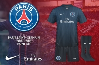 PSG 2014-2015 Home Kit