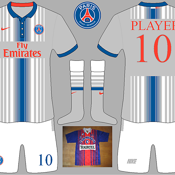 PSG Away Kit (inspired by 1993/1994 kit)
