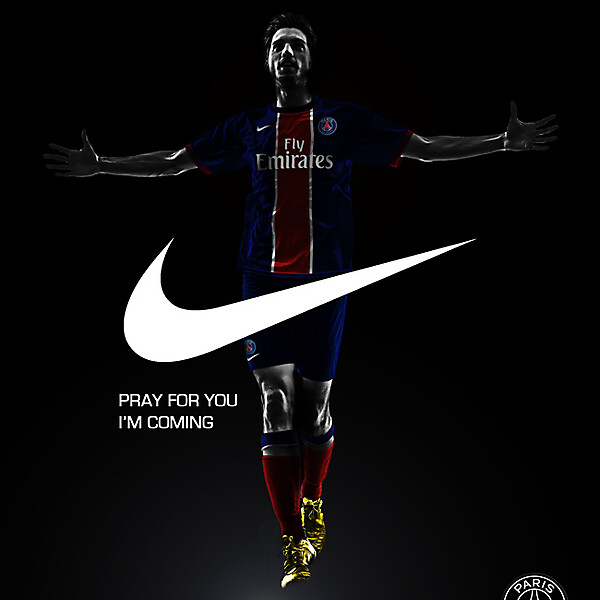 PSG Europe Concept Advertising