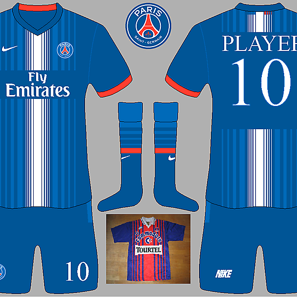 PSG Home Kit (inspired by 1993/1994 kit)