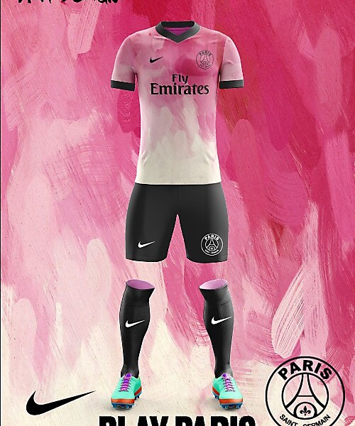 PSG Nike Alternate Kit 2018