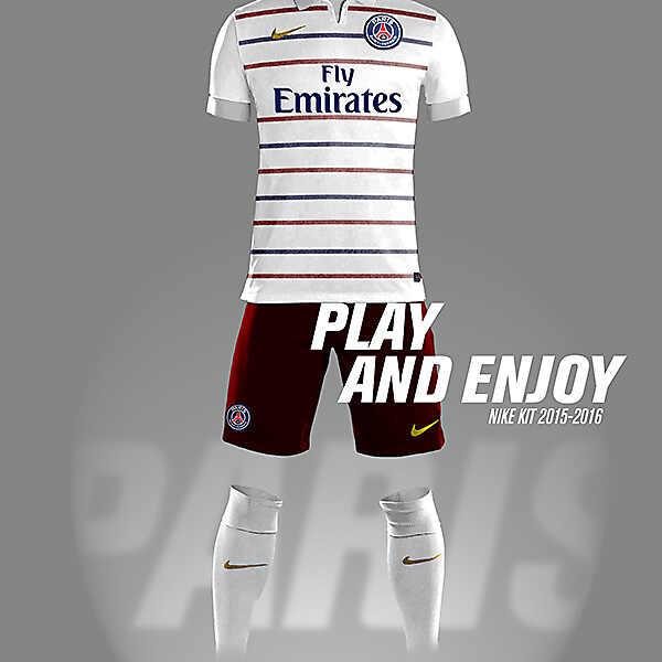 PSG Nike Kit Away 2015-2016
