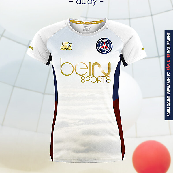 PSG Women Away - Starter kit 16-17