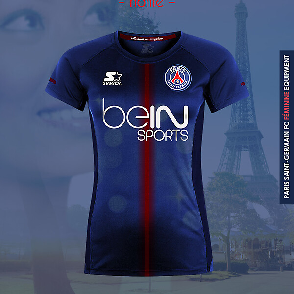 PSG Women Home - Starter kit 16-17
