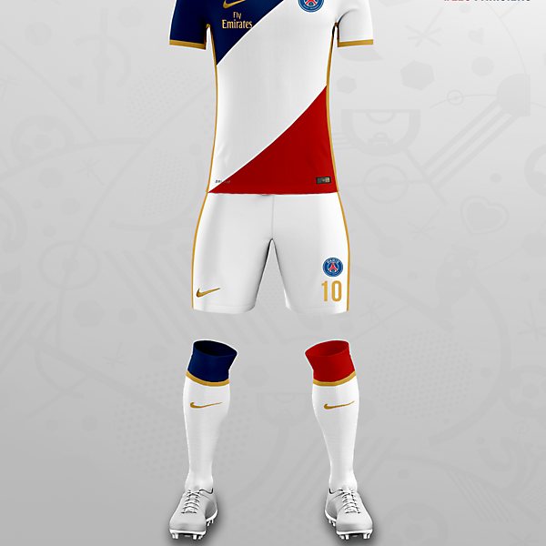PSG x Nike Concept Away Kit
