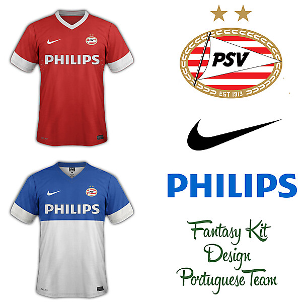 PSV Fantasy Home and Away Kit 2014/2015