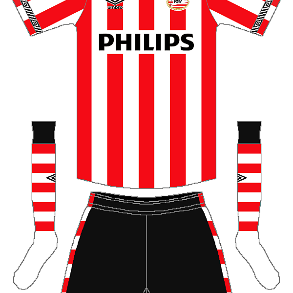 PSV Umbro Home Kit