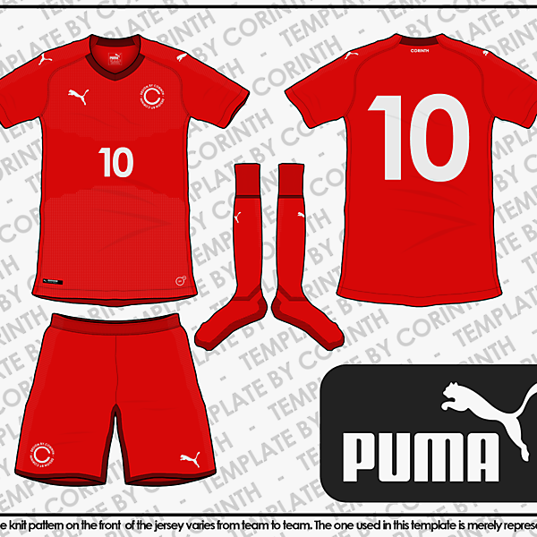 PUMA 2018 World Cup Template