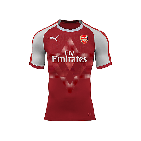Puma Arsenal Home Jersey Concept