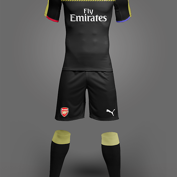 Puma Arsenal Third 17-18 Concept