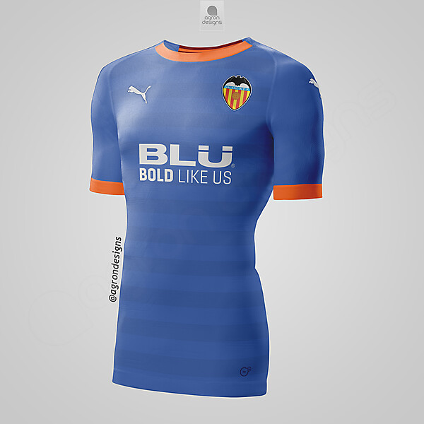 PUMA VALENCIA AWAY KIT CONCEPT