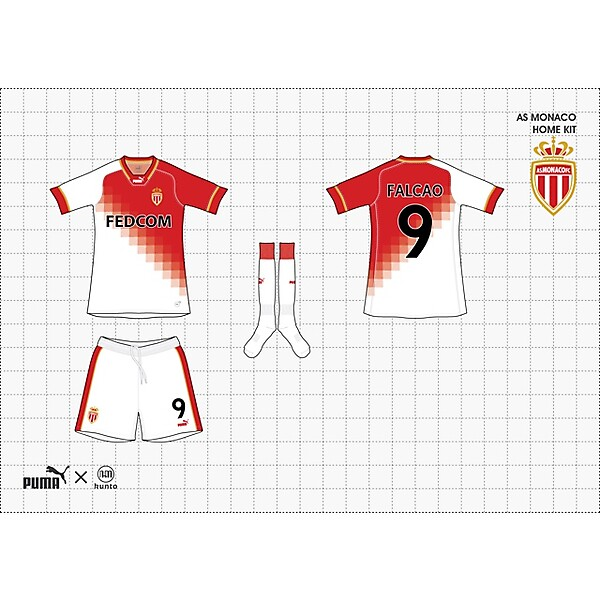 (puma x kunto) as monaco home kit