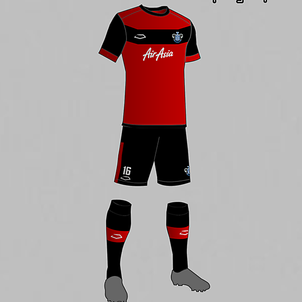 QPR (England) Away Kit 2016