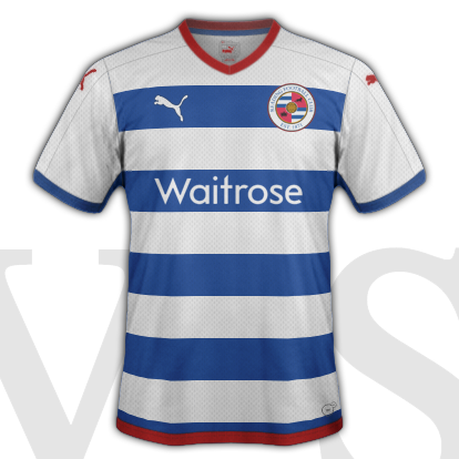 Reading Home kit 2015/16 with Puma SE