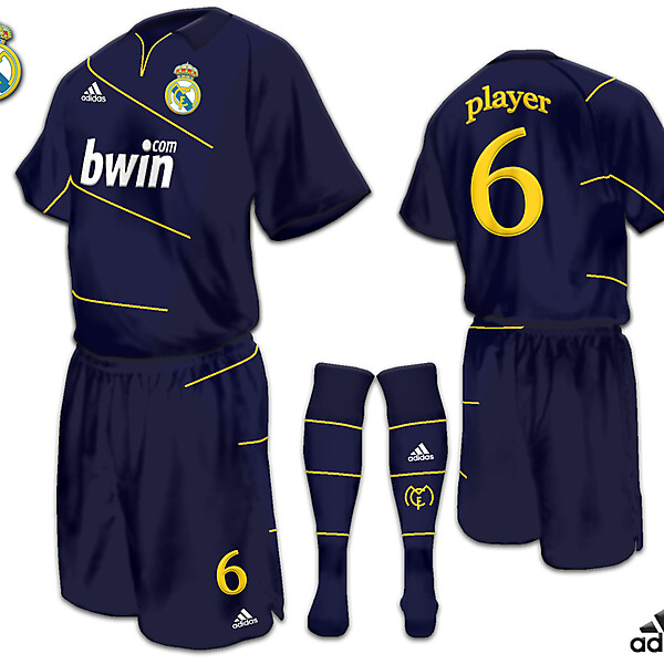 real madrid away fantasy