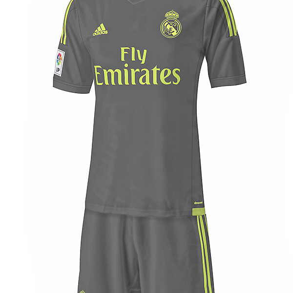 Real Madrid - Away 15/16