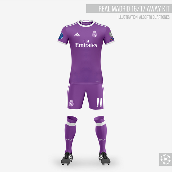 Real Madrid 16/17 Away Kit