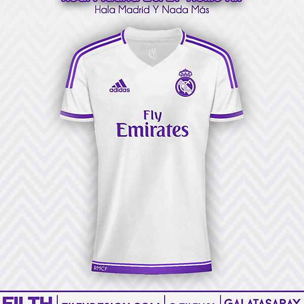 Real Madrid 16/17 Home Concept Kit
