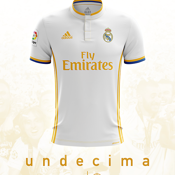 Real Madrid 16/17 Home Shirt