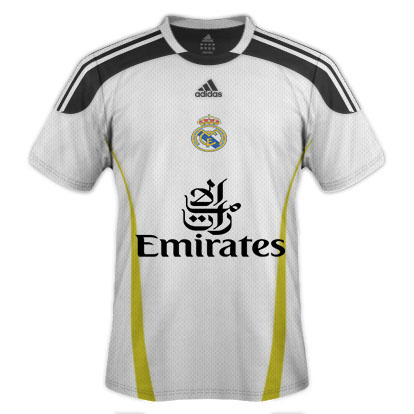 Real Madrid 2015 Home Kit
