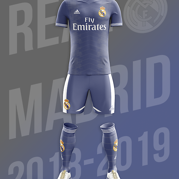 Real Madrid Away / Alternate Kit