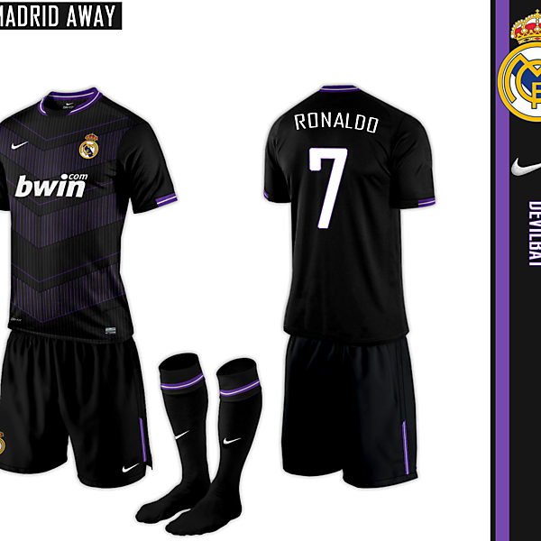 Real Madrid Away Nike