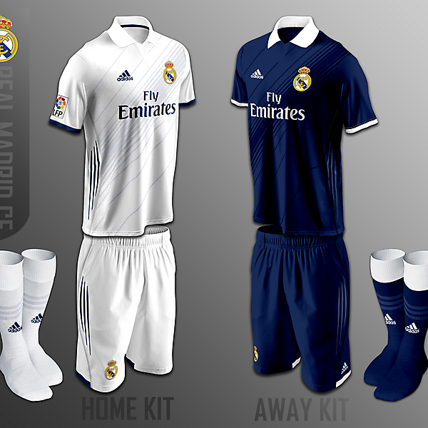Real Madrid CF fantasy kits