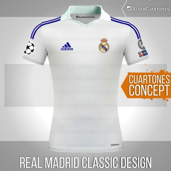Real Madrid Classic Shirt Concept