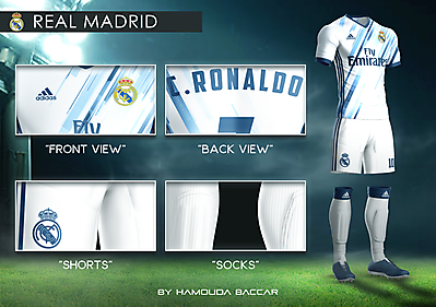 REAL MADRID Football Concept Kit 2018/2019