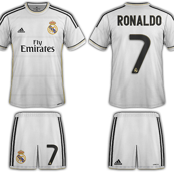 Real Madrid kits 13-14