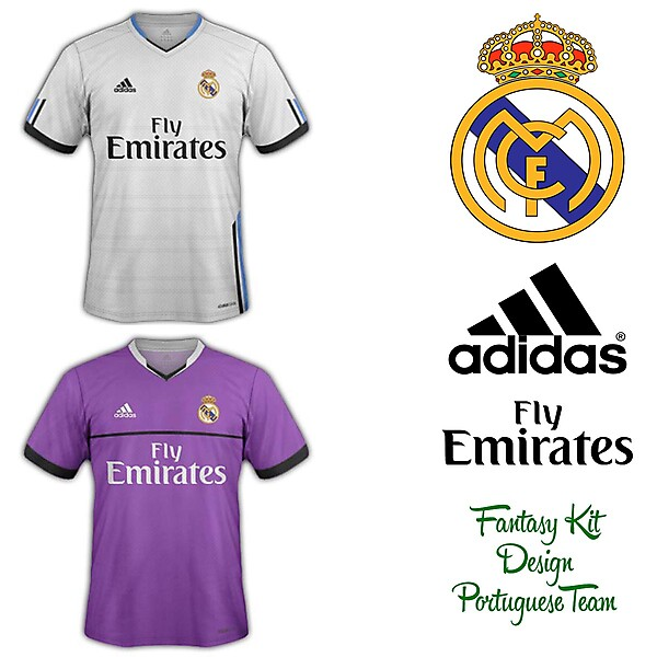 Real Madrid Home and Away Fantasy Kit 2014/2015