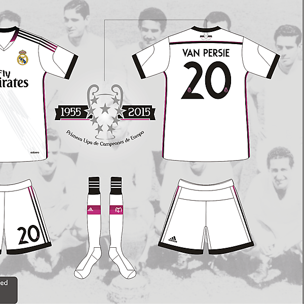 Real Madrid Home Kit 2014/2015 - Prediction