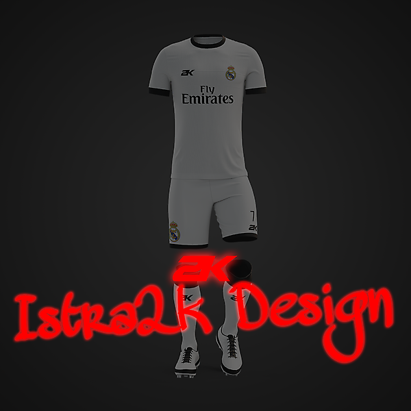 Real Madrid home kit + YOUTUBE VIDEO