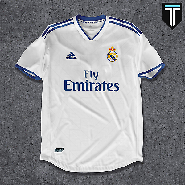Real Madrid Home Kit Concept