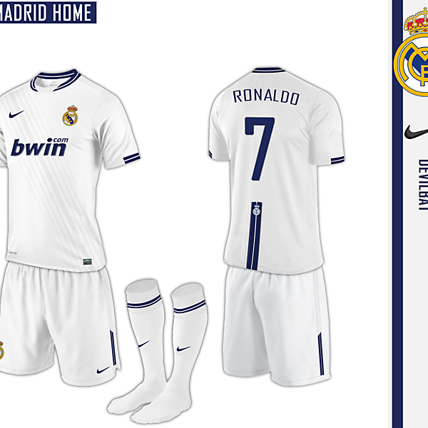 Real Madrid Home Nike