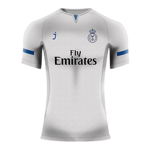 Real Madrid home shirt by J-sports
