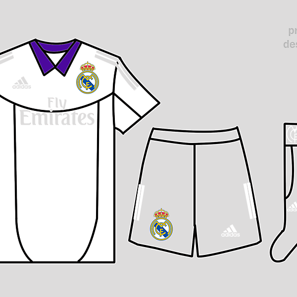 Real Madrid Kits Home 2017