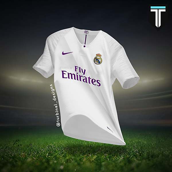 Real Madrid Nike Home Kit Concept