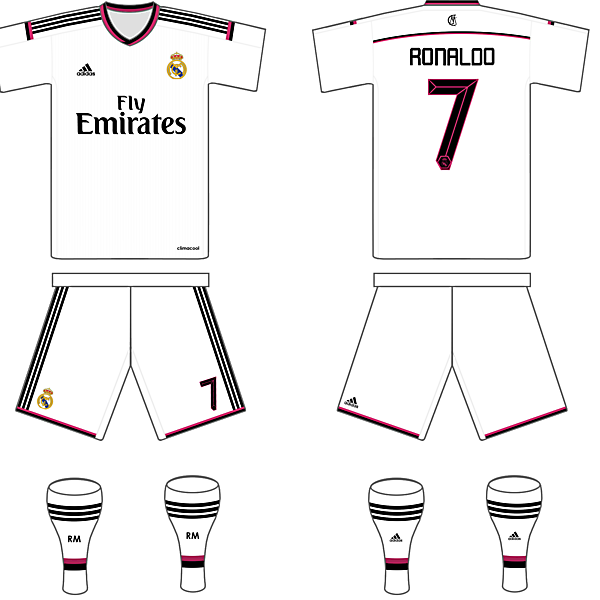 Real Madrid Possible 14/15 Home Kit