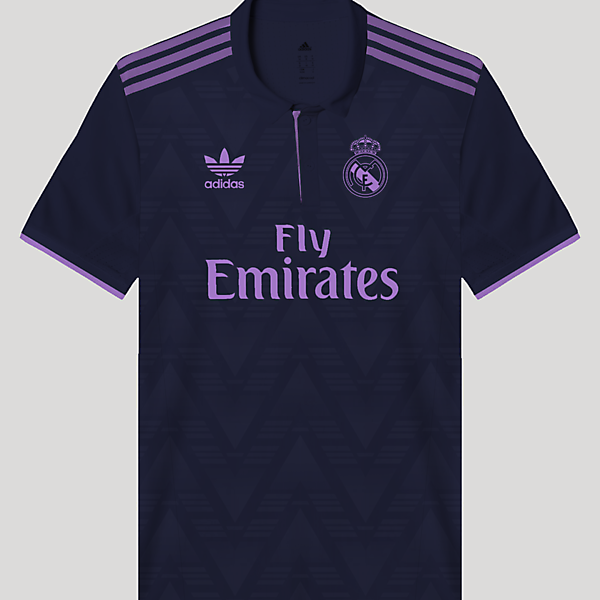 Real Madrid Retro Away Kit