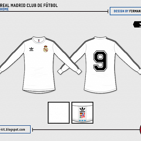 Real Madrid Retro Home - Tribute to Alfredo Di Stéfano