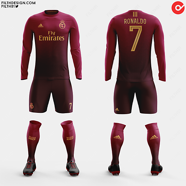 Real Madrid x adidas | Crimson Away