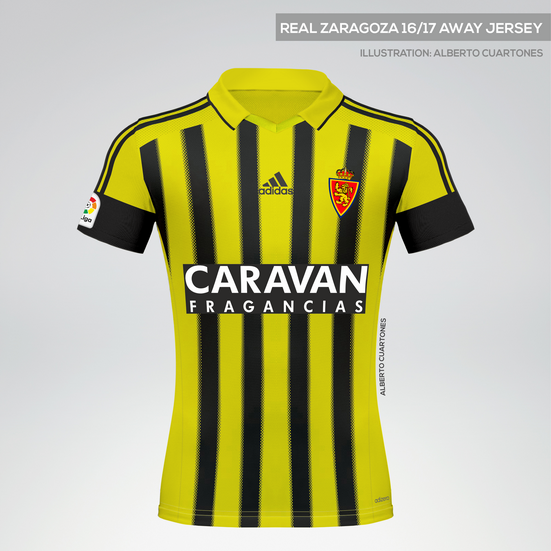 Real Zaragoza 16/17 Away Jersey