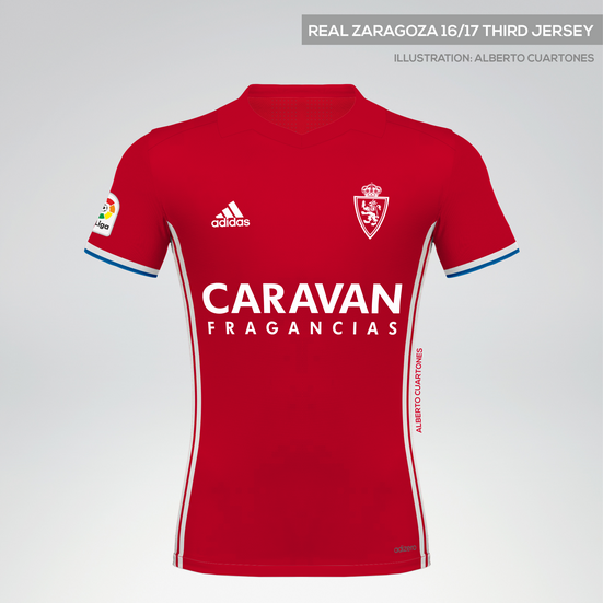 Real Zaragoza 16/17 Third Jersey