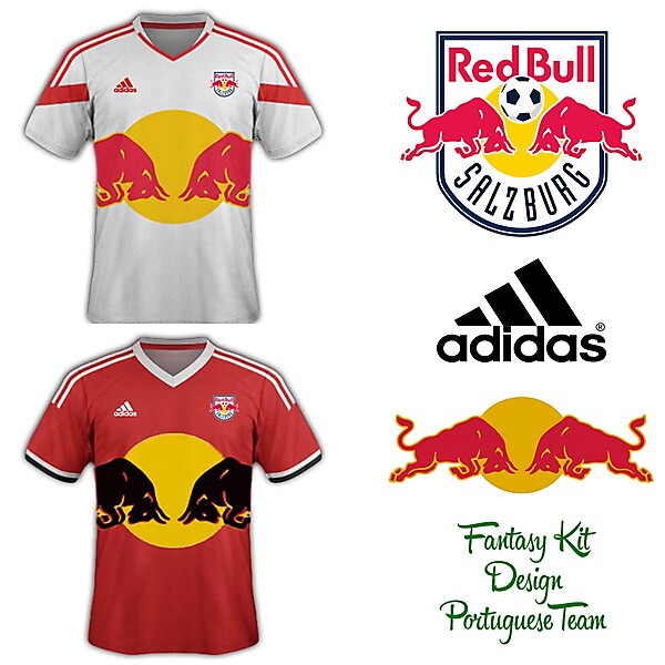 Red Bull Salzburg Home and Away Kit 2014/2015