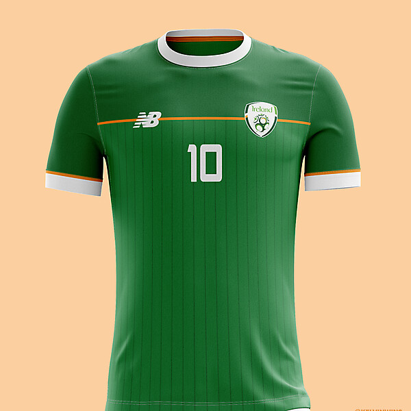 Republic of Ireland - Home Kit Concept #coybig