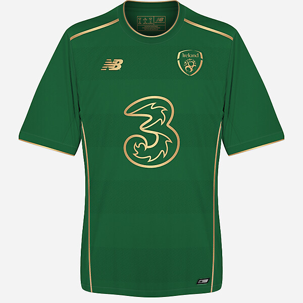 Republic of Ireland 2017/18 home kit