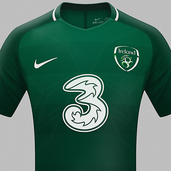 Republic of Ireland Nike home jersey