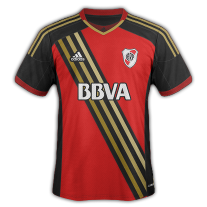River Plate Away kit 2015/16 with Adidas