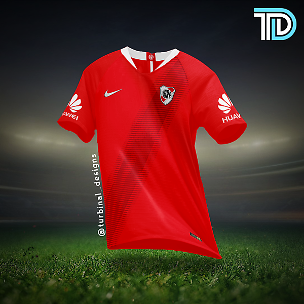 River Plate Nike Away Kit Concept